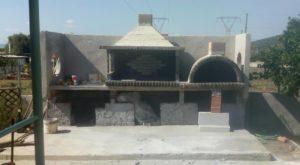 Νέο έργο BBQ set (με παραδοσιακό φούρνο) στη Μαλακώντα