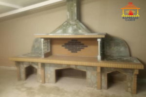 Νέο BBQ χτιστό με δύο πάγκους στη Χαραυγή