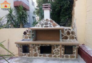 Νέα σύνθεση BBQ με δύο πάγκους στο Μαρούσι